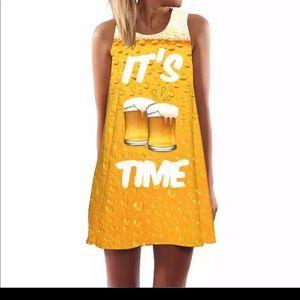 "Dresses & Skirts - ""Beer Thirty "", Shift dress Women's L"